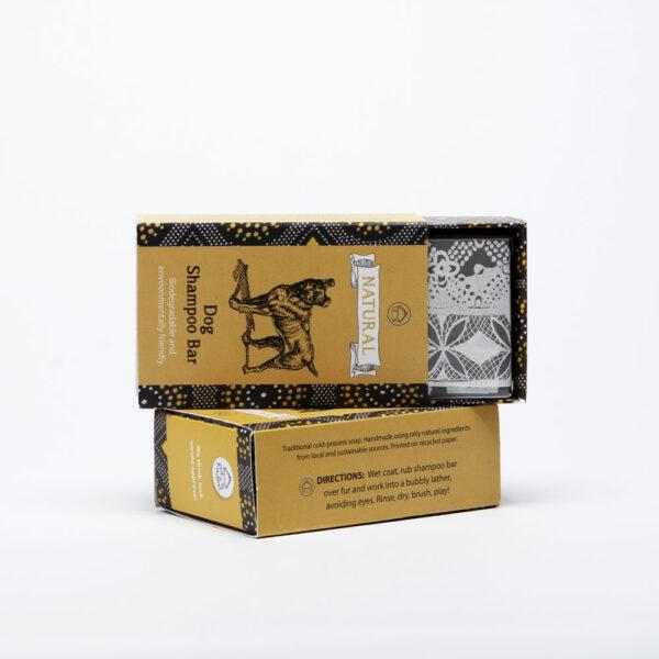 Dog Shampoo handmade soap Tissue Paper