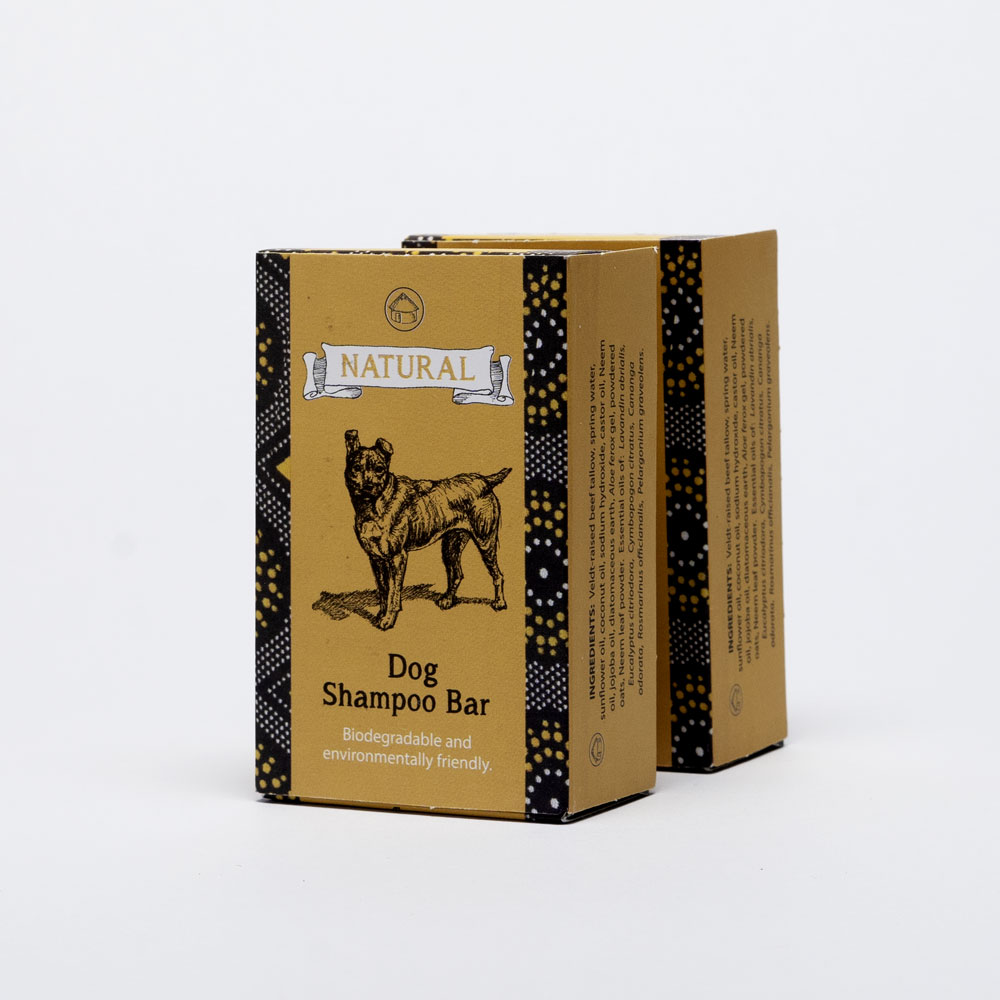 Dog Shampoo Side view two boxes