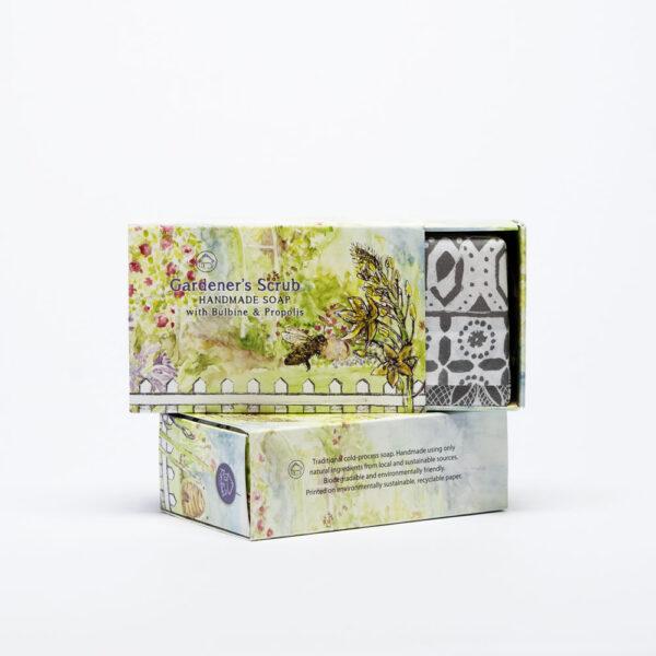 Gardeners Scrub handmade soap Tissue Paper
