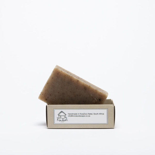 Hops and Hemp soap Naked bar in open box